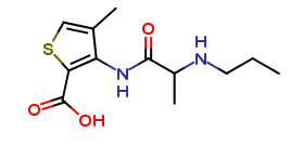 Articaine Related Compound B  (F1K104)