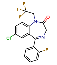 Quazepam Related Compound A  (F)