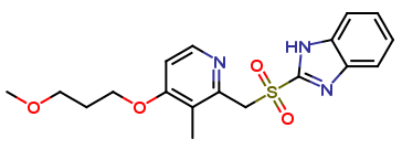 Rabeprazole Related Compound D  (F1M254)