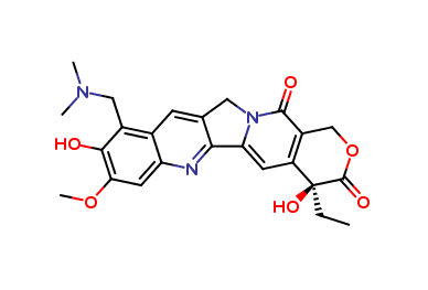 Topotecan Related Compound A  (F0M019)