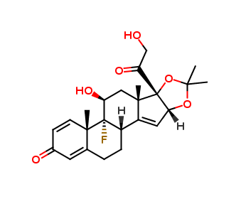 Triamcinolone Acetonide Related Compound B  (F034X0)