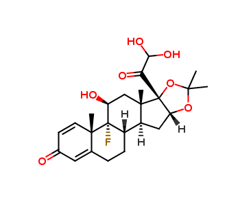 Triamcinolone Acetonide Related Compound C  (F034Y0)
