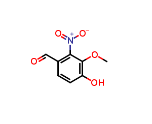 4-Hydroxy-3-methoxy-2-nitrobenzaldehyde