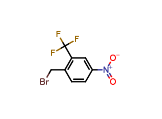 1-(Bromomethyl)-4-nitro-2-(trifluoromethyl)benzene