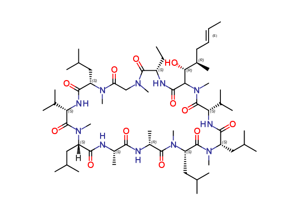 Cyclosporin E, cas 63798-73-2