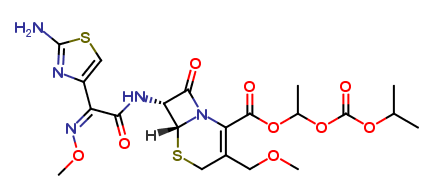 Cefpodoxime proxetil for peak identification (Y0001306)