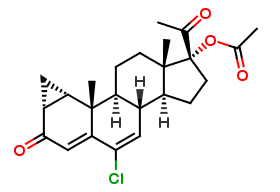 Cyproterone acetate for peak identification (Y0001390)