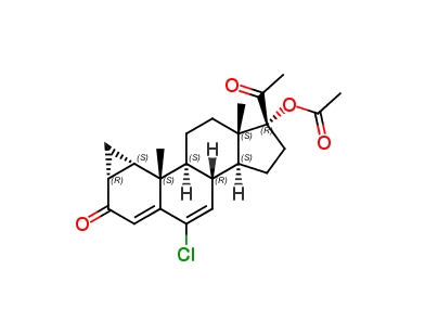 Cyproterone acetate (C3283000)