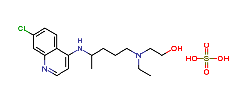Hydroxychloroquine for system suitability