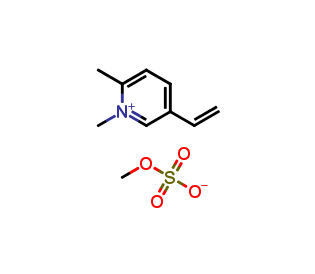 1,2-Dimethyl-5-vinylpyridinium methylsulfate