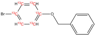 [13C6]-1-Benzyloxy-4-bromo-benzene, cas 6793-92-6 (Unlabeled)