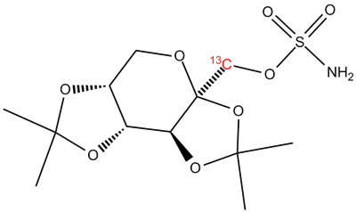 [13C]-Topiramate, cas 97240-79-4 (Unlabeled)