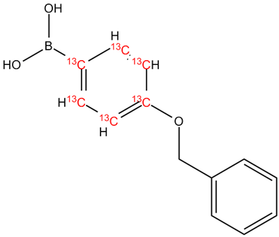 [13C6]-4-Benzyloxy-phenylboronic acid, cas 146631-00-7 (Unlabeled)