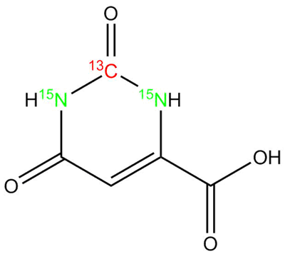 [13C, 15N2]-Orotic acid hydrate, cas 50887-69-9 (Unlabeled)