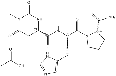 Taltirelin acetate