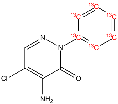 [13C6]-Iso-chloridazon, cas 162354-96-3 (Unlabeled)