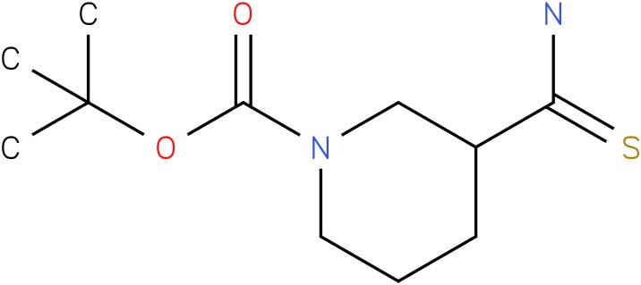 3-Carbamothioylpiperidine, N1-BOC protected