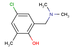 4-chloro-2-[(dimethylamino)methyl]-6-methylbenzenol