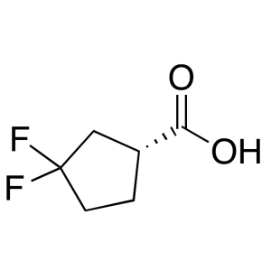 (1R)-3,3-difluorocyclopentane-1-carboxylic acid