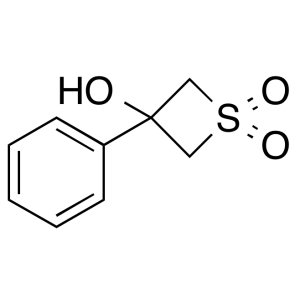 3-Hydroxy-3-phenylthietane 1,1-dioxide
