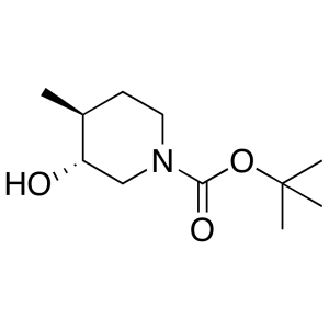 tert-butyl (3R,4S)-rel-3-hydroxy-4-methylpiperidine-1-carboxylate
