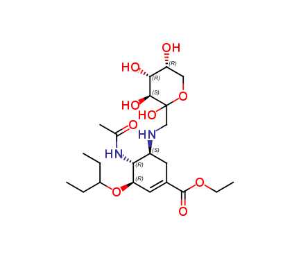 Oseltamivir Fructose adduct-1