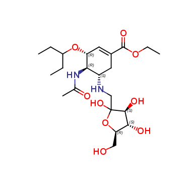 Oseltamivir Fructose adduct-2