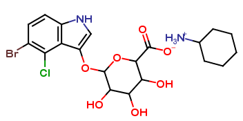 5-Bromo-3-Indolyl-B-D-Glucuronide