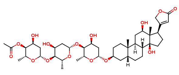 ß-Acetyldigoxin for peak identification(Secondary Standards traceble to EP)