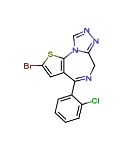 Brotizolam impurity B(Secondary Standards traceble to EP)
