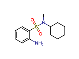 2-Amino-N-methyl-N-cyclohexyl-benzenesulfonamide, cas 70693-59-3