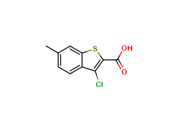 3-Chloro-6-methylbenzo[b]thiophene-2-carboxylic acid
