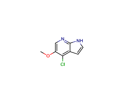 4-Chloro-5-methoxy-1H-pyrrolo[2,3-b]pyridine