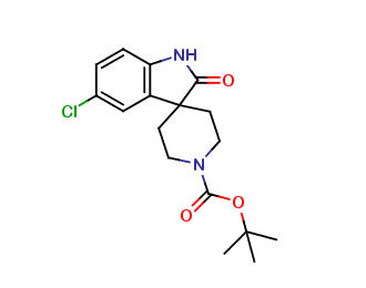 tert-Butyl 5-chloro-2-oxospiro[indoline-3,4'-piperidine]-1'-carboxylate