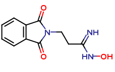 (1E)-3-(1,3-Dioxo-1,3-dihydro-2H-isoindol-2-yl)-N-hydroxypropanimidamide