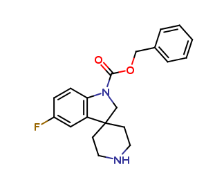 Benzyl 5-fluorospiro[indoline-3,4-piperidine]-1-carboxylate