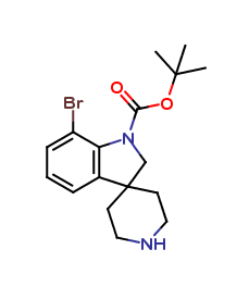 tert-Butyl 7-bromospiro[indoline-3,4-piperidine]-1-carboxylate