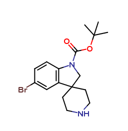 tert-Butyl 5-bromospiro[indoline-3,4-piperidine]-1-carboxylate