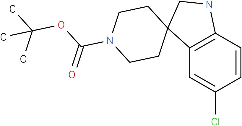 tert-Butyl 5-chlorospiro[indoline-3,4-piperidine]-1-carboxylate