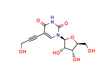 5-(3-Hydroxypropyn-1-yl)uridine