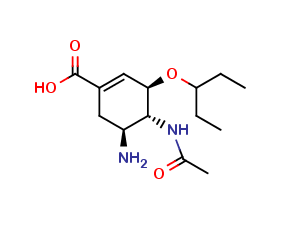 Oseltamivir carboxylic acid