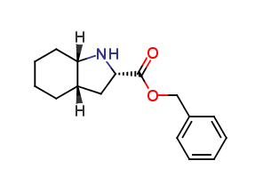 (2S,3aS,7aS)-Octahydro-1H-indole-2-carboxylic acid benzyl ester