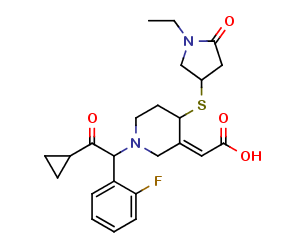 Prasugrel Metabolite M3 (NEM Derivatized)