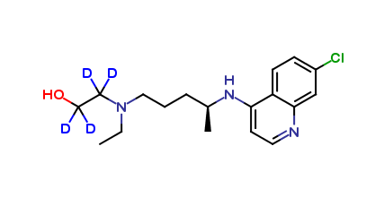S-Hydroxychloroquine D4