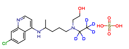 Hydroxychloroquine-D5 sulfate