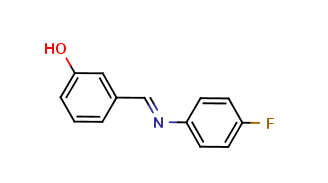 3-{(E)-[(4-fluorophenyl)imino]methyl}phenol