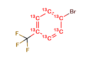 4-trifluoromethyl bromobenzene 13C6