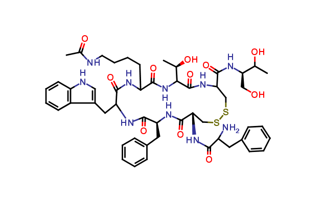 Acetyl-Lys5-octreotide