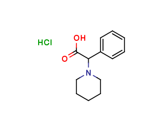 α-phenyl-2-piperidineacetic acid Hydrochloride