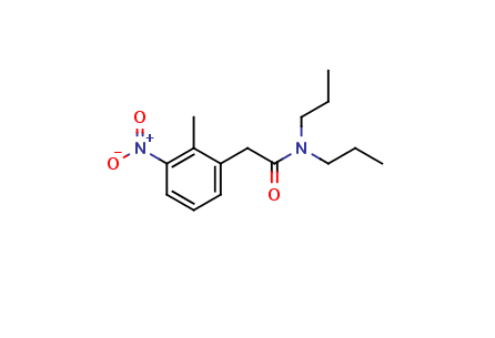 2-Methyl-3-nitro-N,N-dipropylphenylacetamide